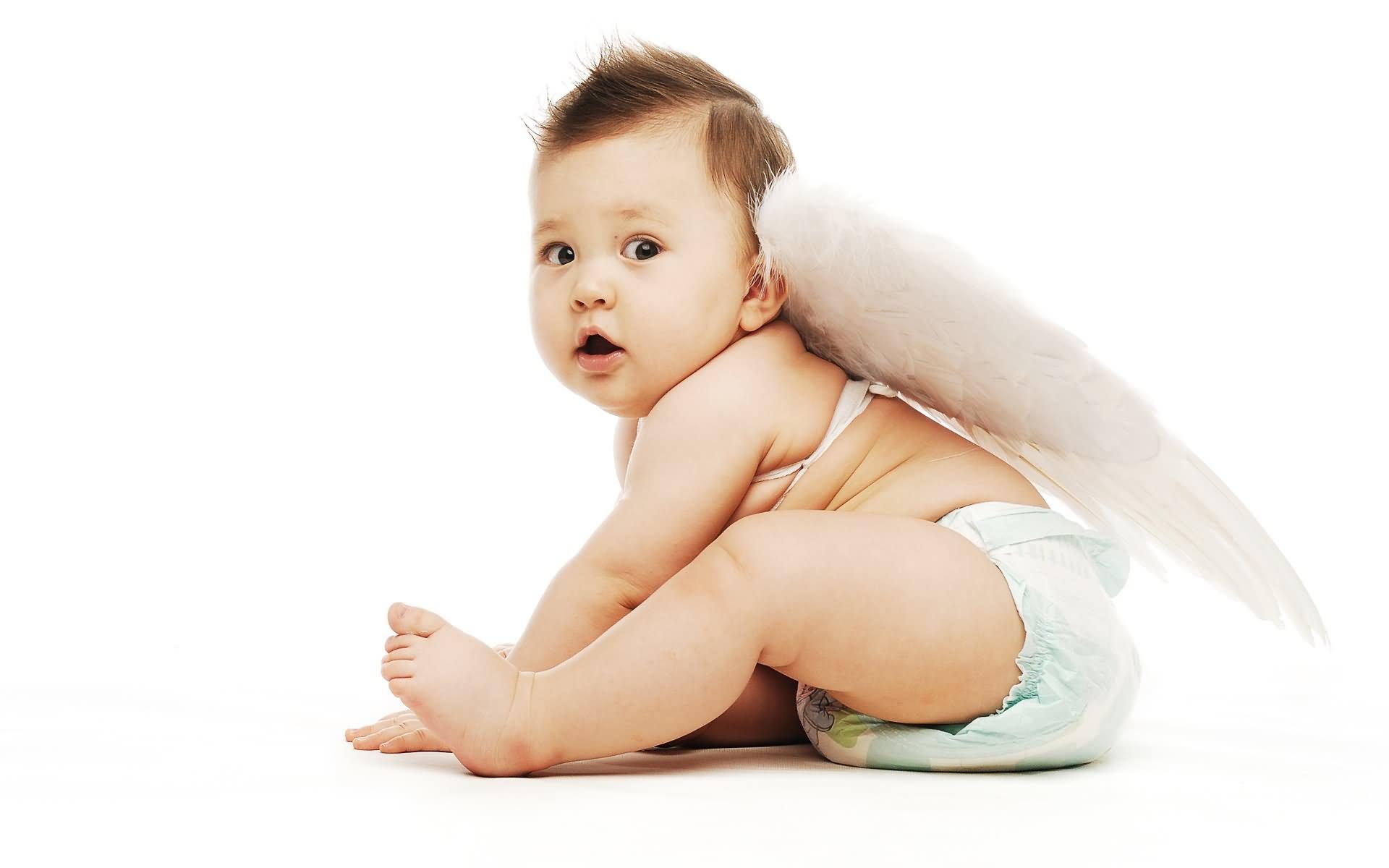 Cute Fairy Baby Wallpaper