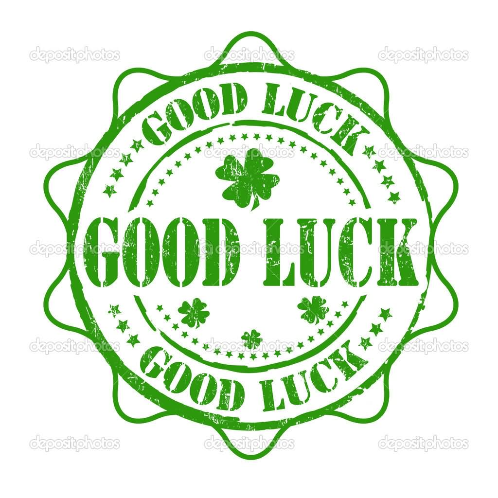 Good Luck Clover Leaf Animated Picture