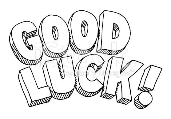 good luck coloring pages Good Luck Coloring Page good luck coloring pages