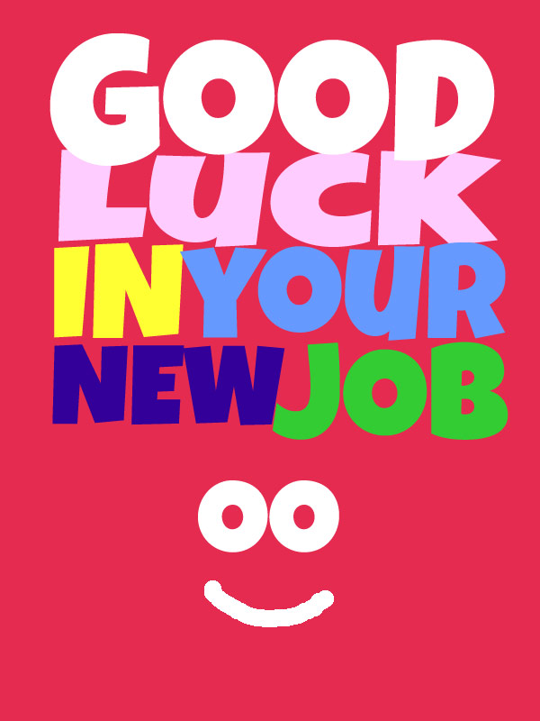 27 very best good luck for you job wishes pictures good luck in your new job greeting ecard m4hsunfo