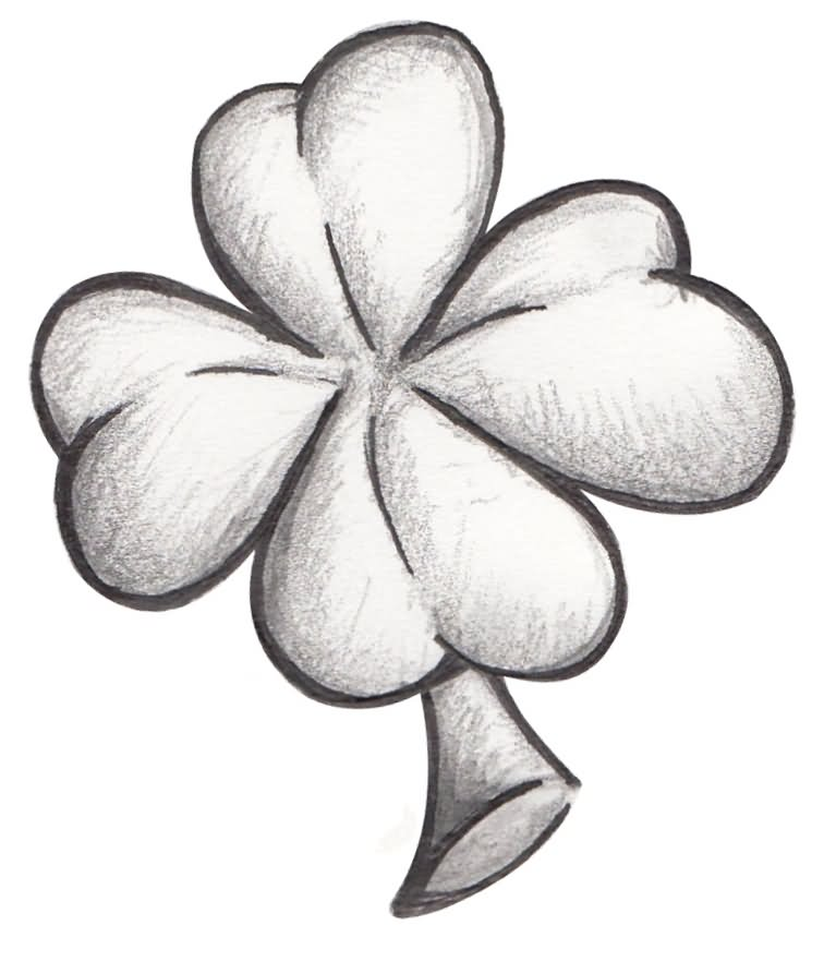 3 best clover tattoo designs and ideas for Clover tattoo designs