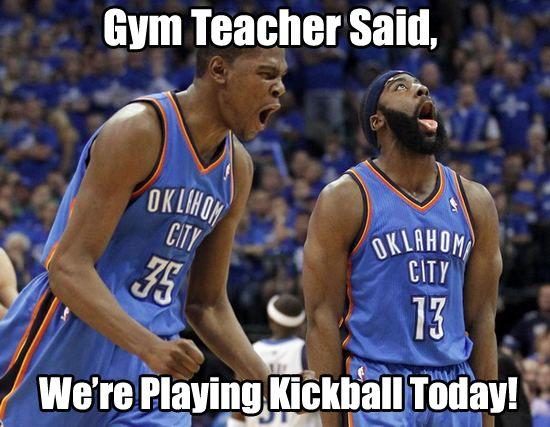 memes meme funny sports sport kickball gym teacher quotes greatest sunday excited said jobu laugh basketball loud nba hits funniest