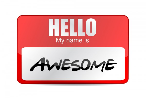 My Name Is Name: Hello My Name Is Awesome Picture