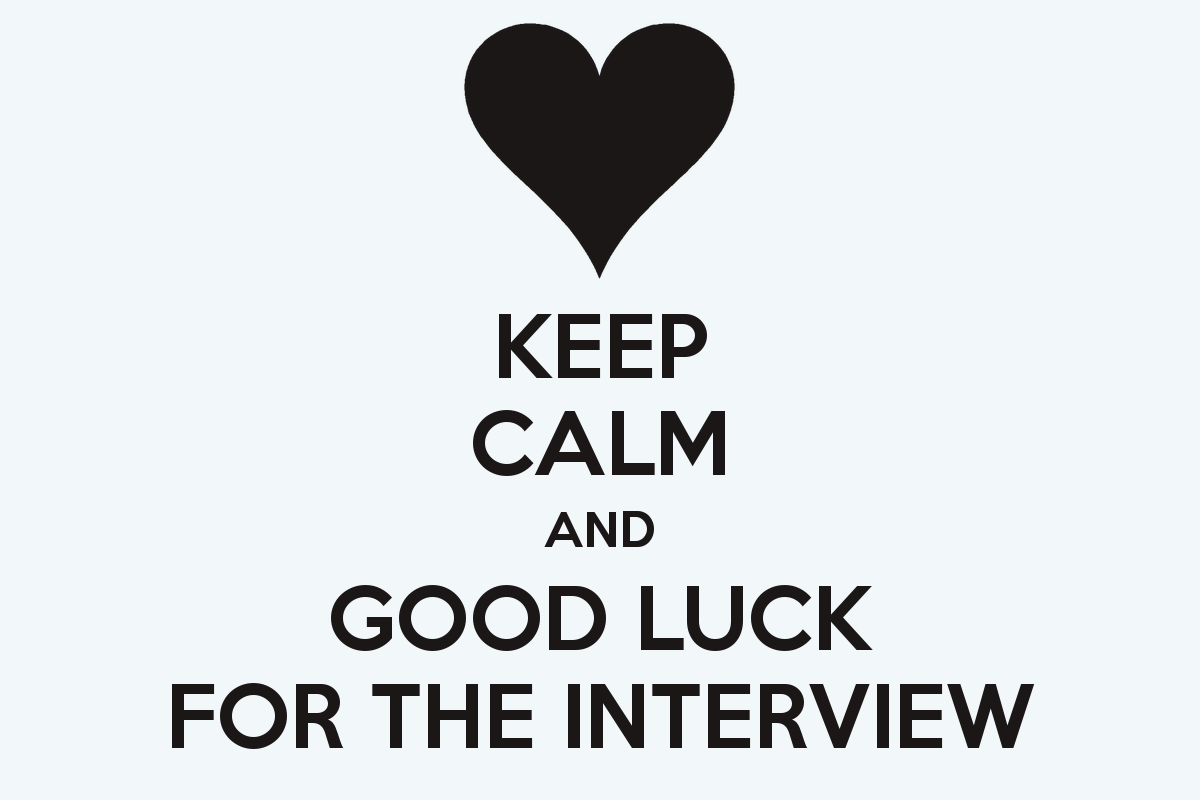 11 best good luck for interview pictures