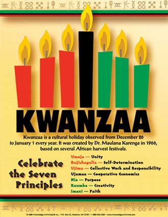 Kwanzaa Celebrate The Seven Principles
