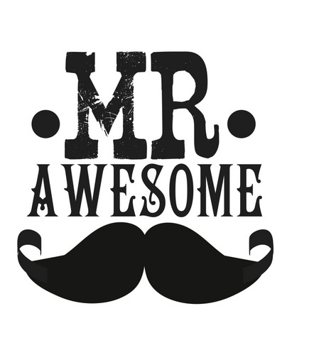 Mr. Awesome Mustache Picture