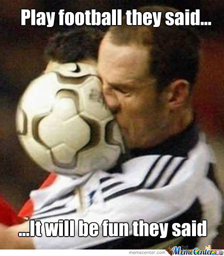 Football plays funny