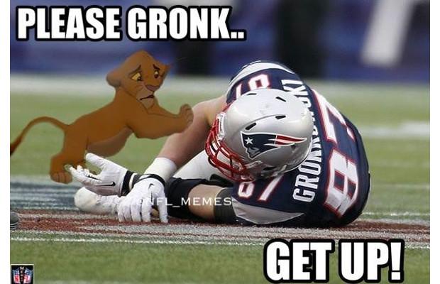 Please Gronk Get Up Funny Sport Meme please gronk get up funny sport meme