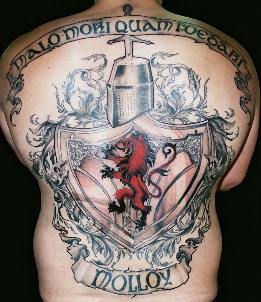 Ideas For Men Scottish Tattoo: 20 Family Crest Tattoo Tattoo Designs And Images