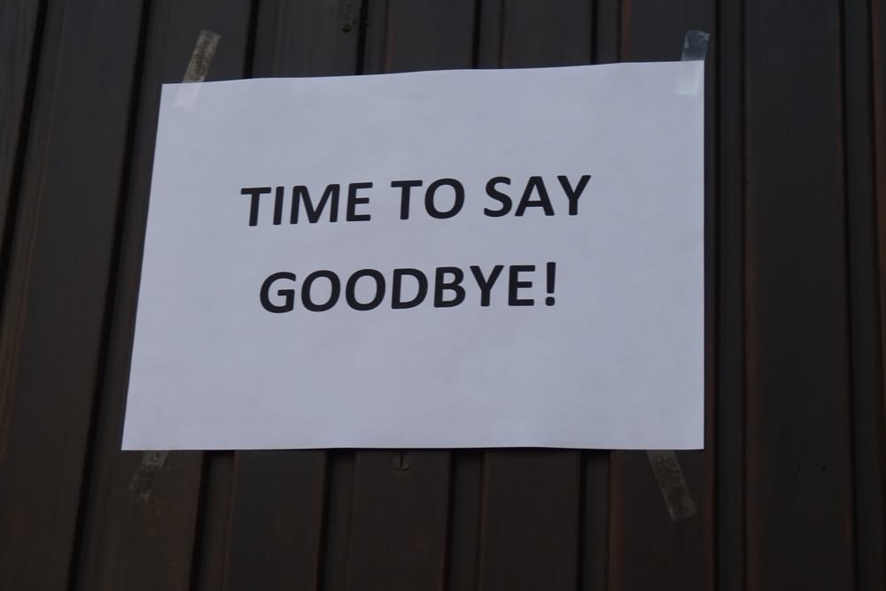 Its Time To Say Goodbye Quotes: 10 Very Best Good Bye Images