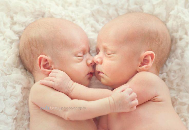 Twins newborn babies