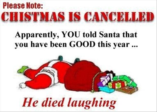 You Told Santa That You Have Been Good This Year Funny Christmas