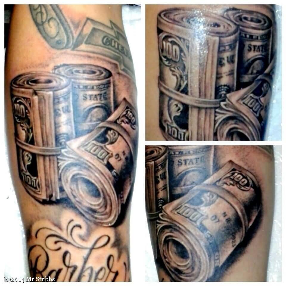18 Unique Money Tattoo Design Ideas And Images