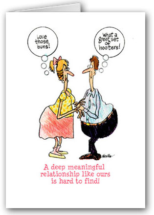 a deep meaningful relationship funny valentine couple cartoon - Funny Valentine Quotes For Friends