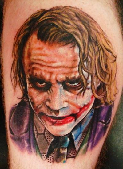 17 Joker Tattoo Designs, Ideas, Pictures And Images