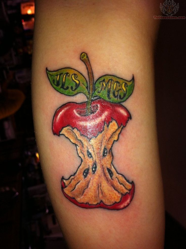 ae5895963 25 Sweet Fruit Tattoo Images, Pictures And Design Ideas