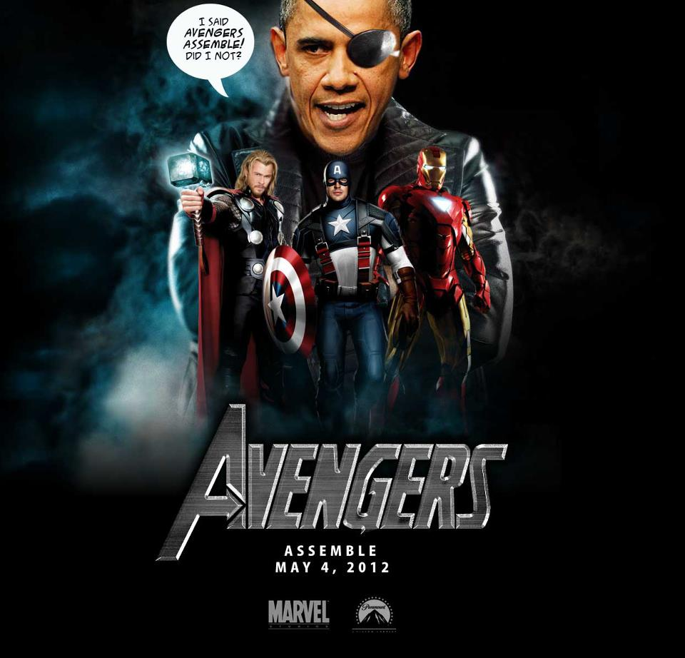 Funny Obama Quotes Avengers Funny Obama Poster