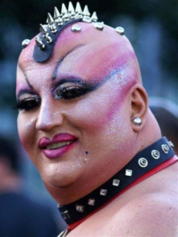 Ugly bald girls