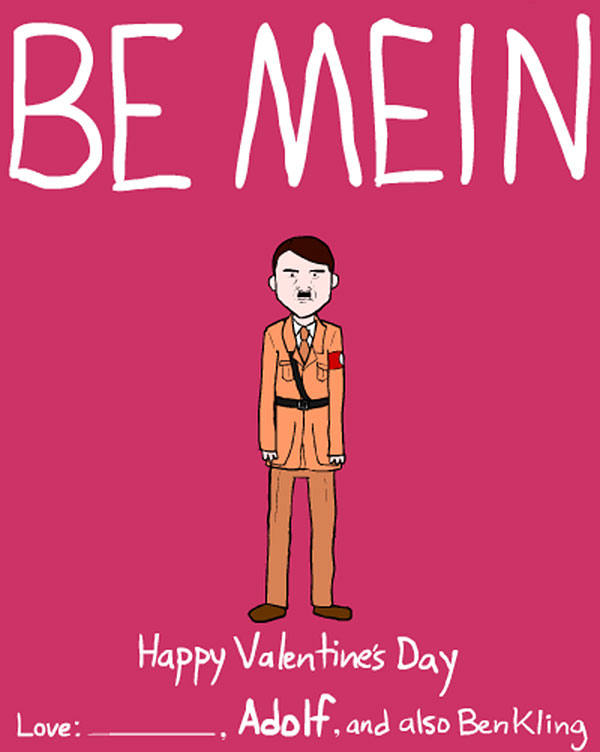 Be Men Funny Happy Valentines Day Picture – Funny Valentine Cards for Friends