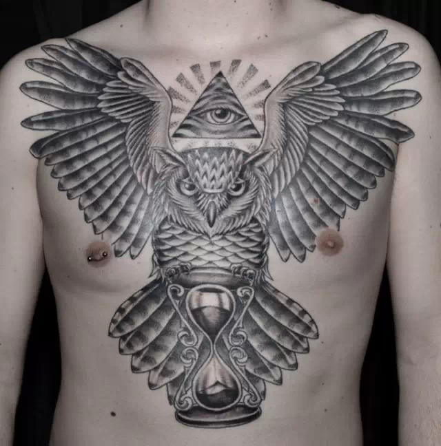 22 illuminati eye tattoo pictures images and designs. Black Bedroom Furniture Sets. Home Design Ideas