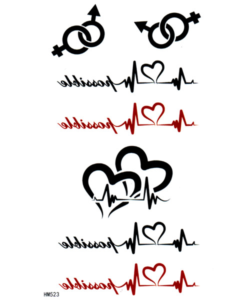 Tattoo Designs Online: 3 Beautiful Heartbeat Tattoo Design Ideas