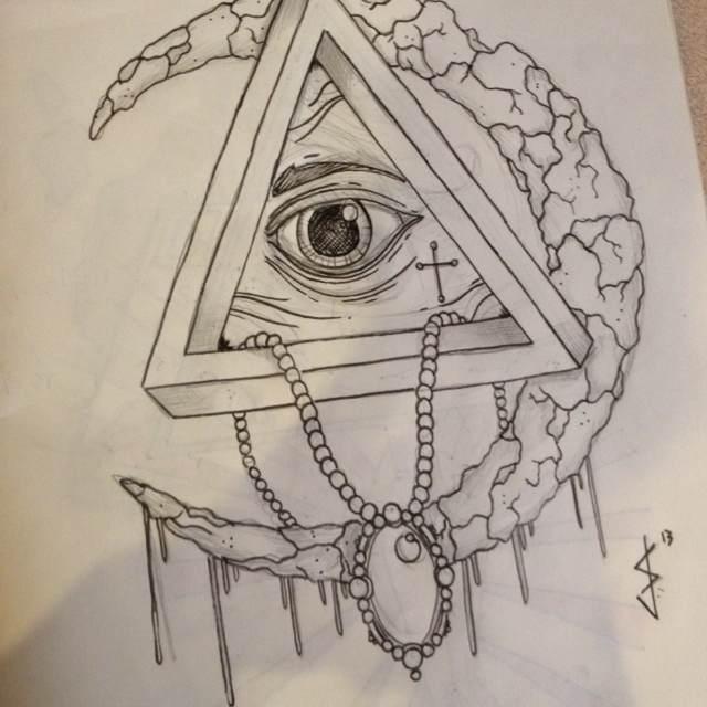 Illuminati Triangle Tattoo 5 Latest Illumi...