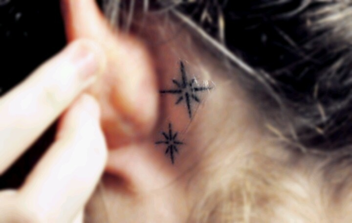 31 unique ear tattoos design and ideas. Black Bedroom Furniture Sets. Home Design Ideas