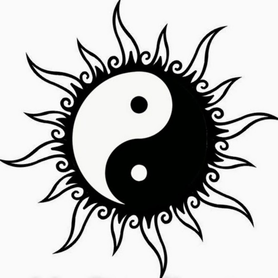 tribal yin yang design by forace