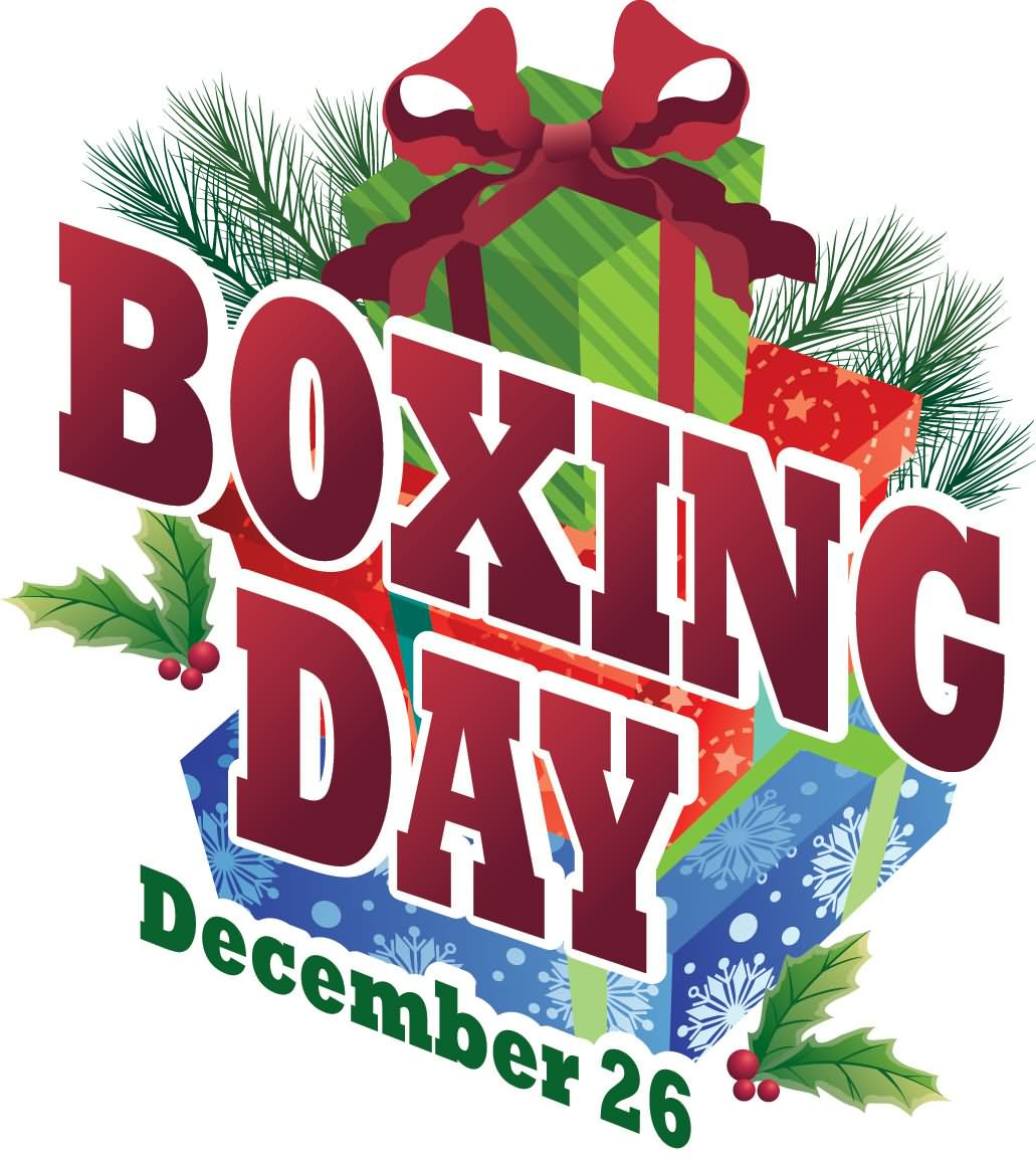 Boxing Day December 26 Boxing Day