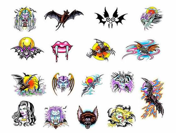 5+ Beautiful Vampire Tattoo Design Ideas