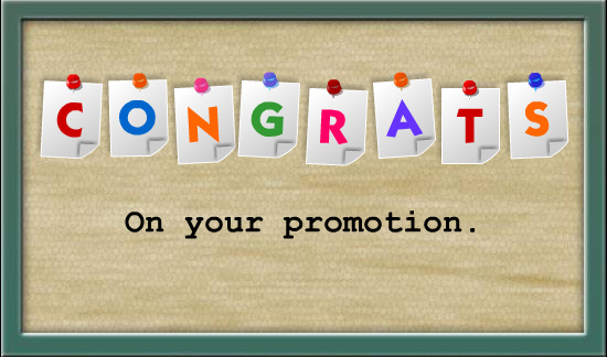 Promotion congratulations images - photo#4