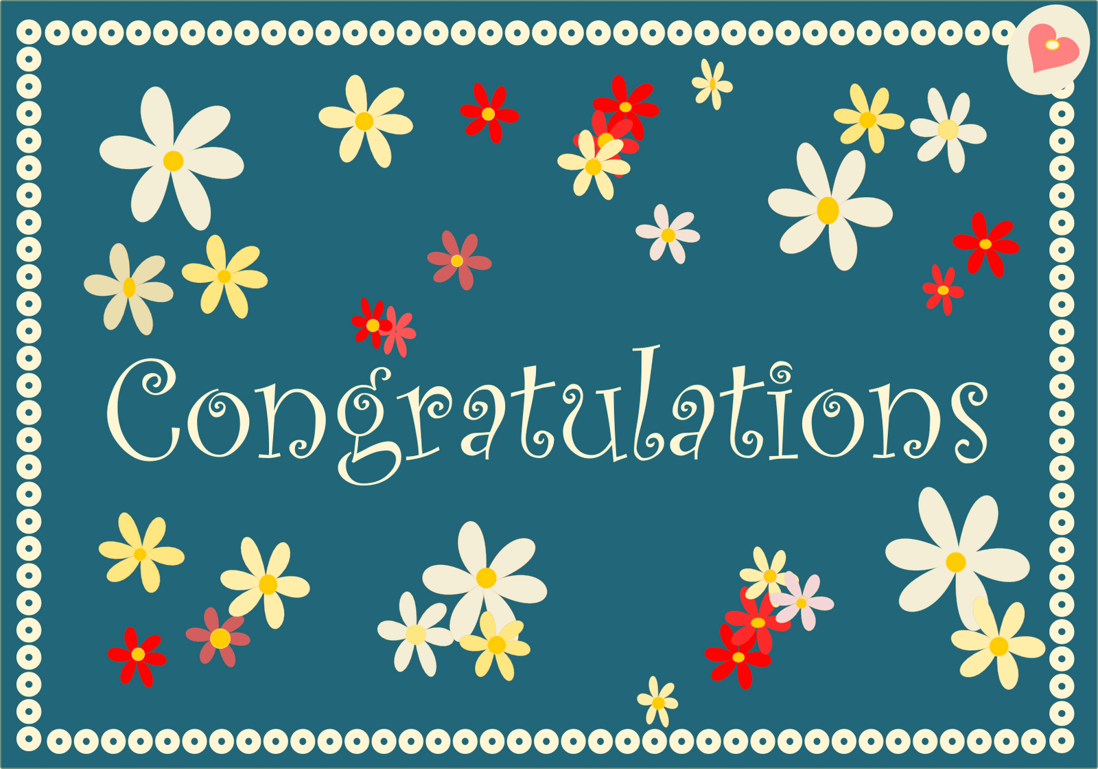 Congratulations greetings card m4hsunfo