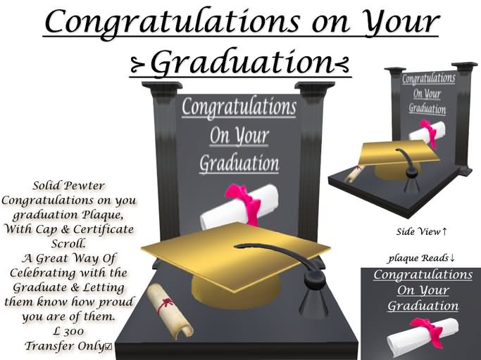 congratulations on your graduation wishes