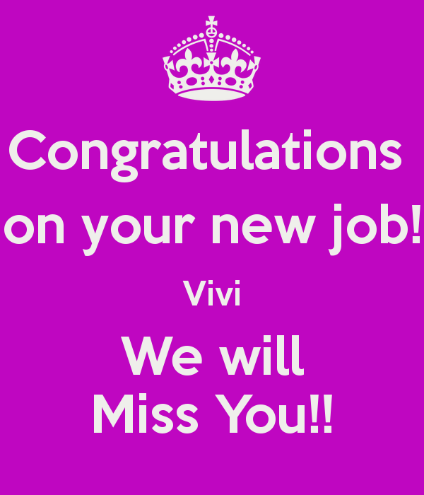 Congratulations Quotes New Job Position: 15 Best Congratulations On New Job Wishes Pictures