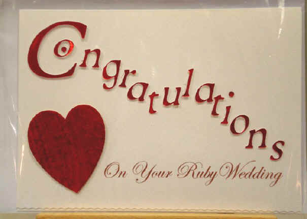 10 wonderful congratulations on wedding wishes images congratulations on your ruby wedding greeting card m4hsunfo