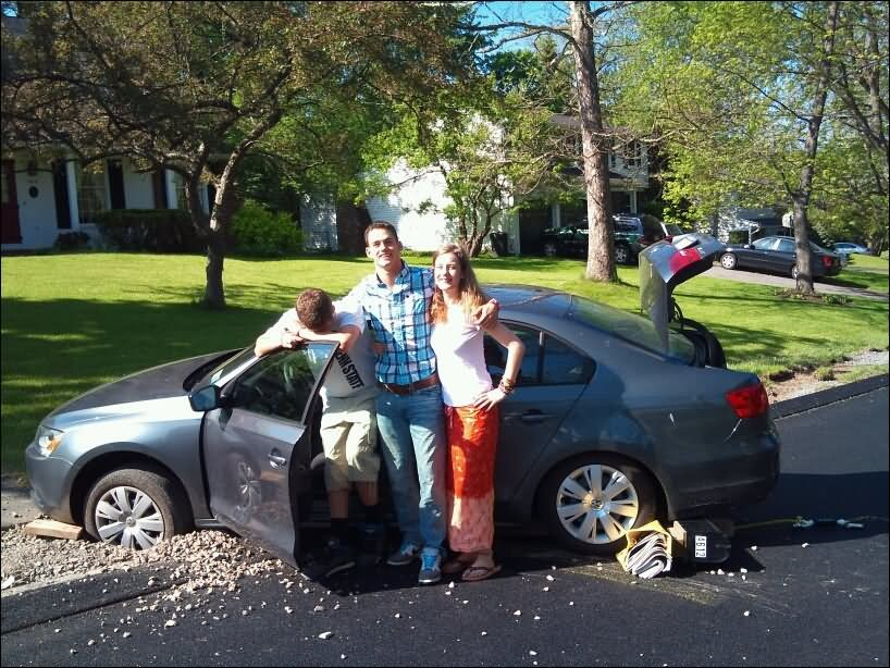 27 Very Funny Accident Pictures