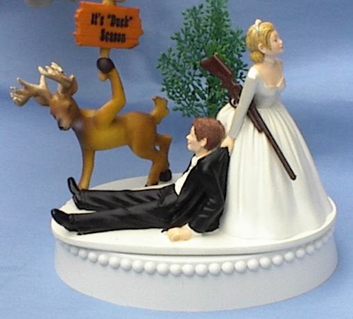 bow hunting wedding cake toppers shooting picture 12107
