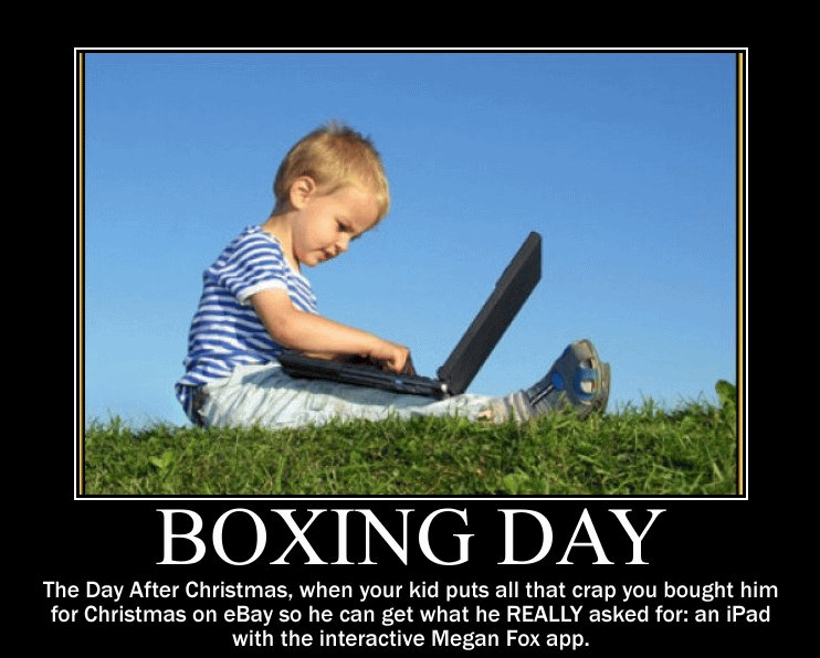 Funny Boxing Day