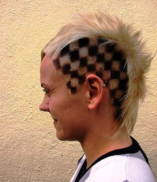 Funny Crazy Haircut