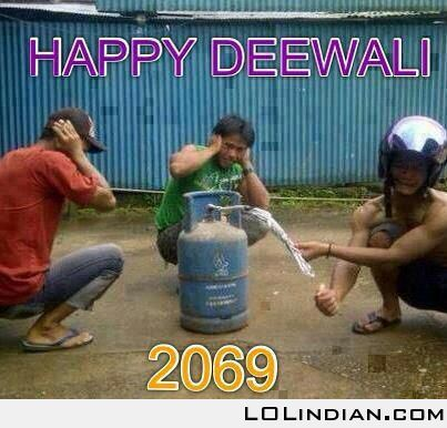 Funny Diwali Joke Picture For Whatsapp