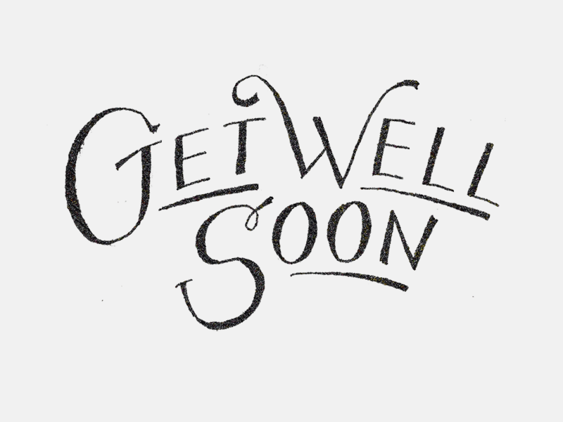 Get Well Soon Note