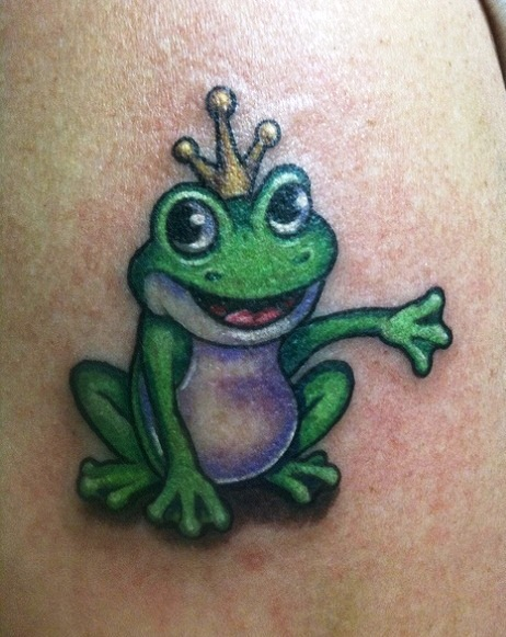 16 frog tattoo pictures images and designs gallery. Black Bedroom Furniture Sets. Home Design Ideas