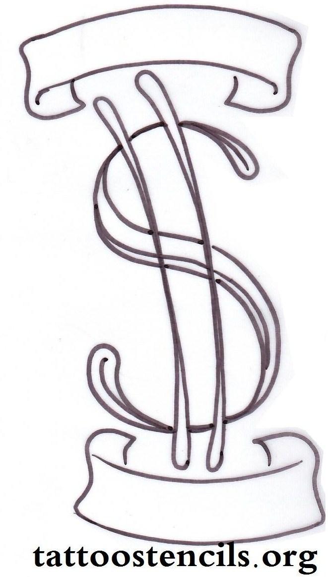 3 simple money tattoo designs