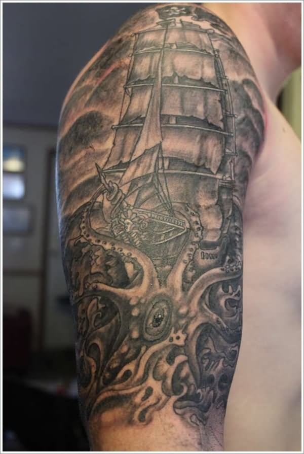 20 nautical tattoo images pictures and designs