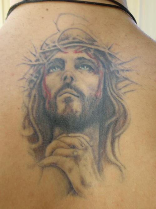 21 incredible religious tattoo images and designs for Tattoos of black jesus