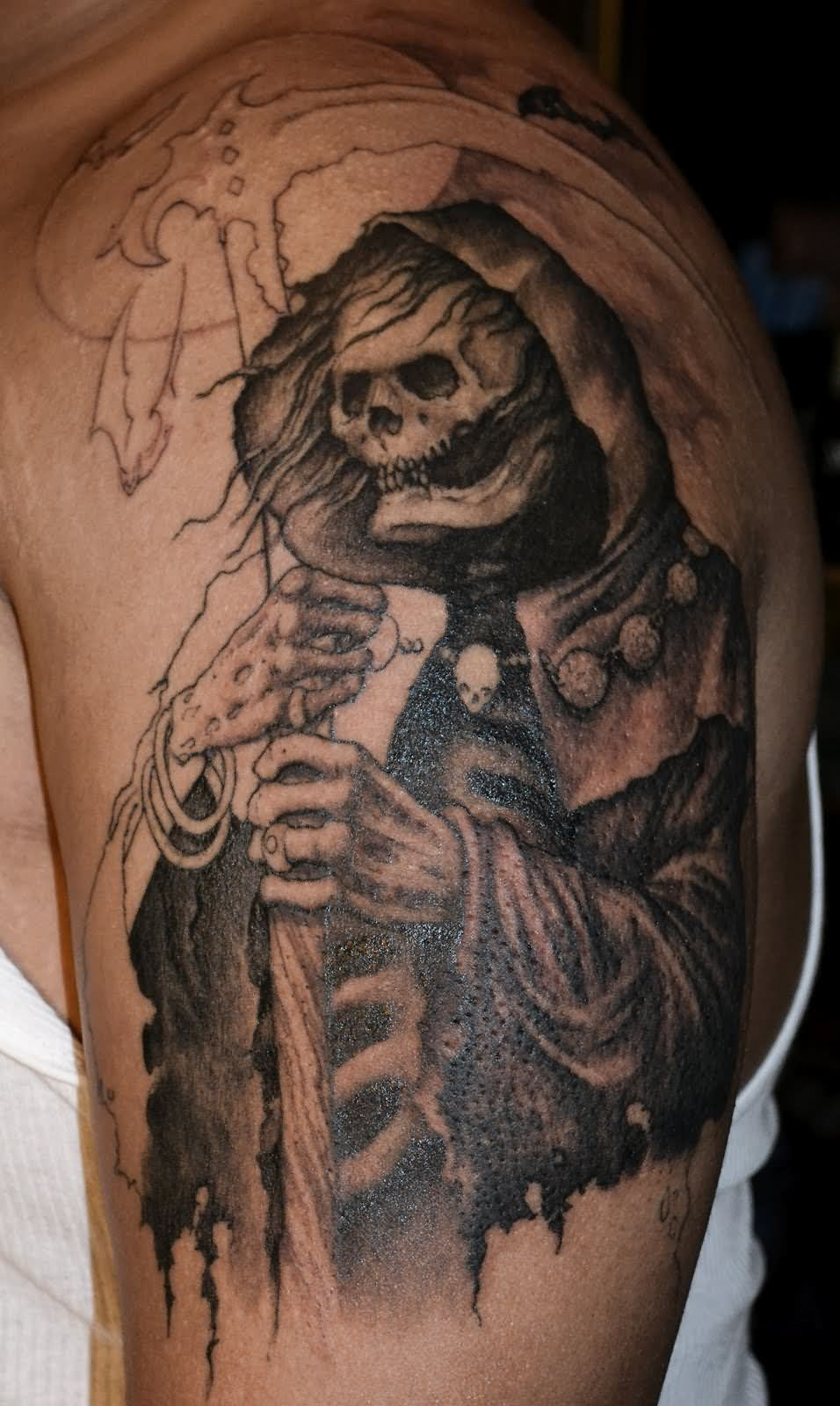 3d217ccc5 23 Graveyard Tattoo Images Pictures and Designs Gallery