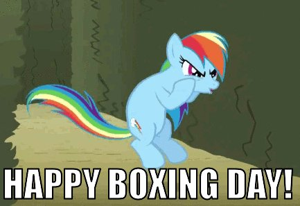 Happy Boxing Day Everyone