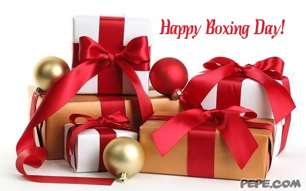Happy Boxing Day Gifts Picture