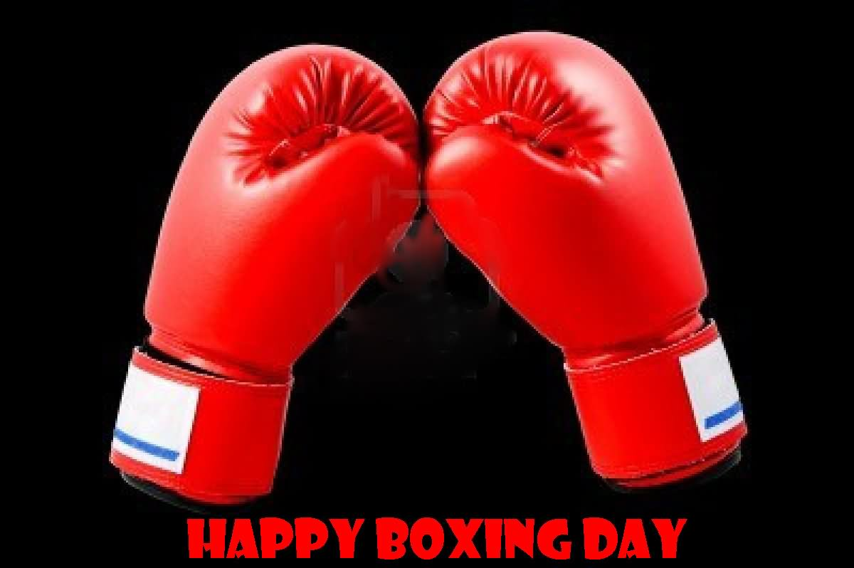 Happy Boxing Day Gloves Picture