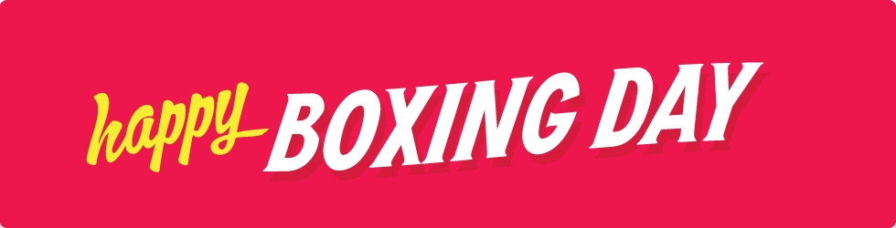 Happy Boxing Day Header Image